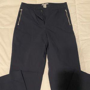 H&M high waisted slacks w/ side zipper detail